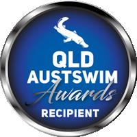 Logo Qld Austswim Awards Recipient